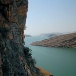 Se está secando el río Eufrates