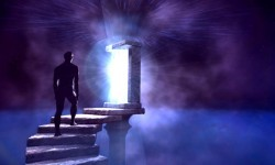 puerta luz