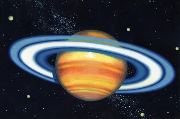 what color is saturn - 600×399