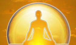 meditacion luz dorada