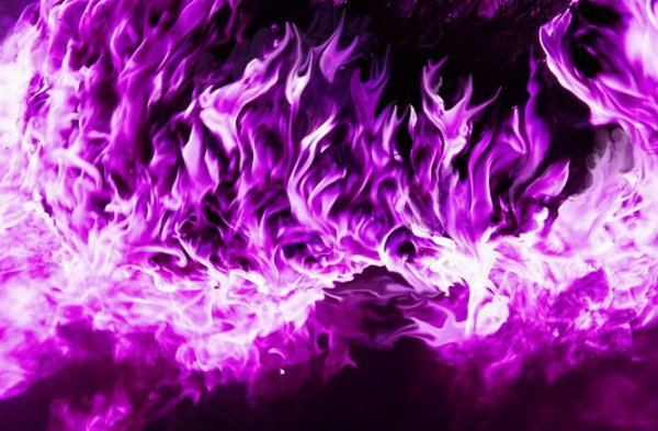 Llama violeta transmutadora