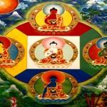 Los Cinco Budas Dhyani