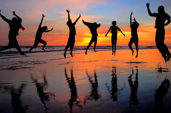 viviendo con alegría