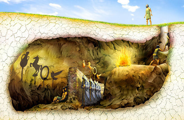 La cueva de Platón