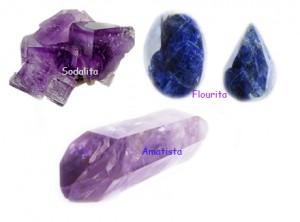Amatista-Fluorita-Sodalita