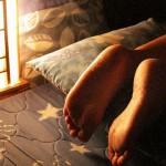 Automasaje en los pies para calmar el estrés