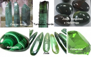 Cristales varios