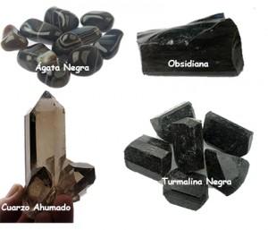 Piedras negras y ahumadas