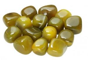 ágata amarilla