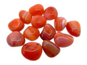 ágata naranja