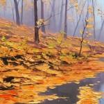"""Técnica de visualización """"Las hojas del río"""""""