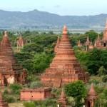 La llanura de los 13.000 templos en Birmania