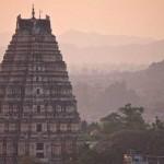 3 imponentes templos de forma piramidal en India