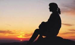 Meditando en el horizonte
