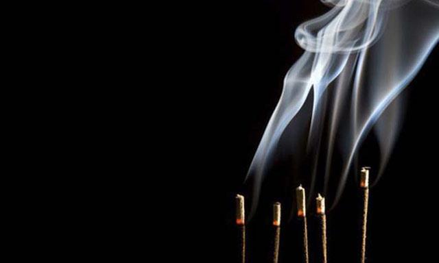 quemar incienso