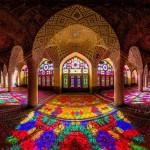 La mezquita rosa de Nasir al-Mulk