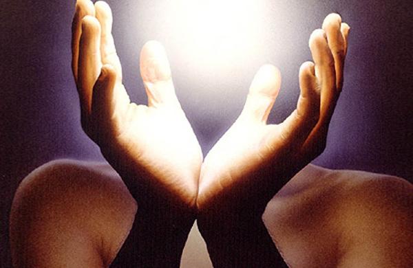 Puntos sanación en las manos