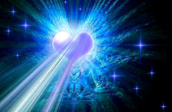 Enivar luz desde el corazón