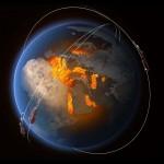 El campo magnético terrestre se está debilitando