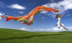 Sentirse libre y féliz