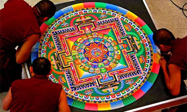 Meditación con mandalas