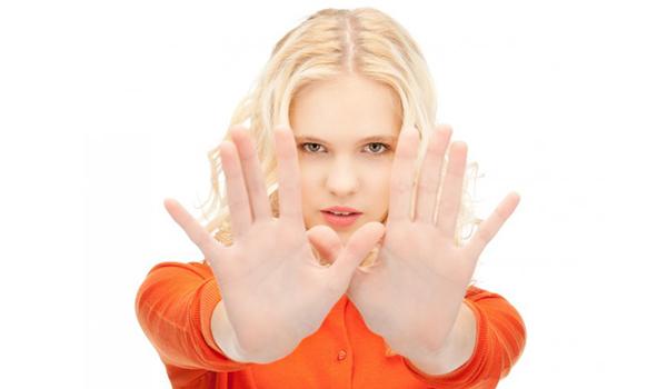 Evitar las personas negativas