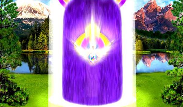Poner en acción la llama violeta