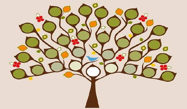 arbol genealogico creativo - Roho.4senses.co