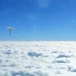 Ufo sobre la India grabado por un pasajero