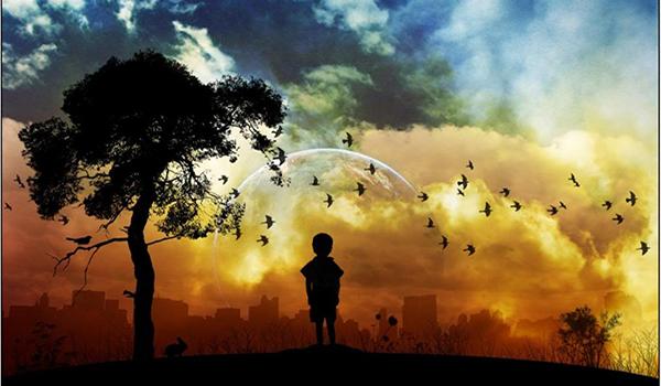 Estás perdido en tus pensamientos y por eso no oyes el canto de los pájaros
