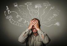el exceso de pensamientos