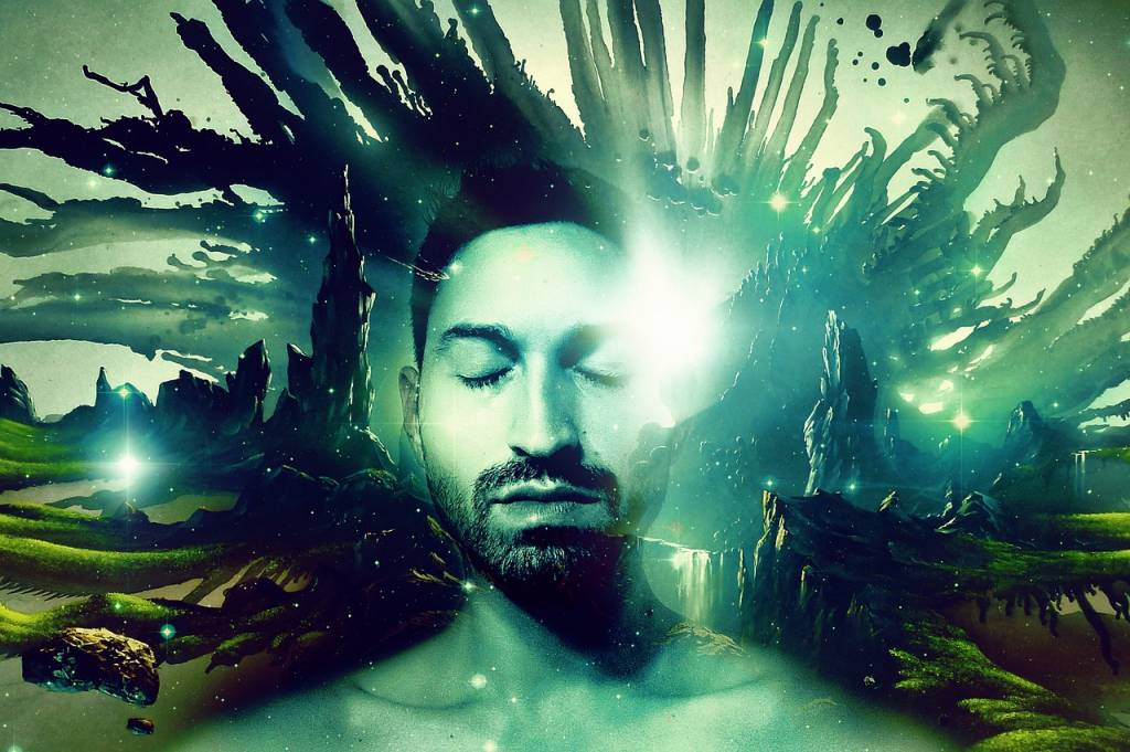 observador de tus pensamientos para la curación del chakra del tercer ojo