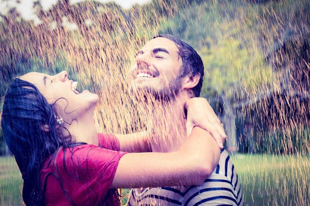 apreciar la lluvia