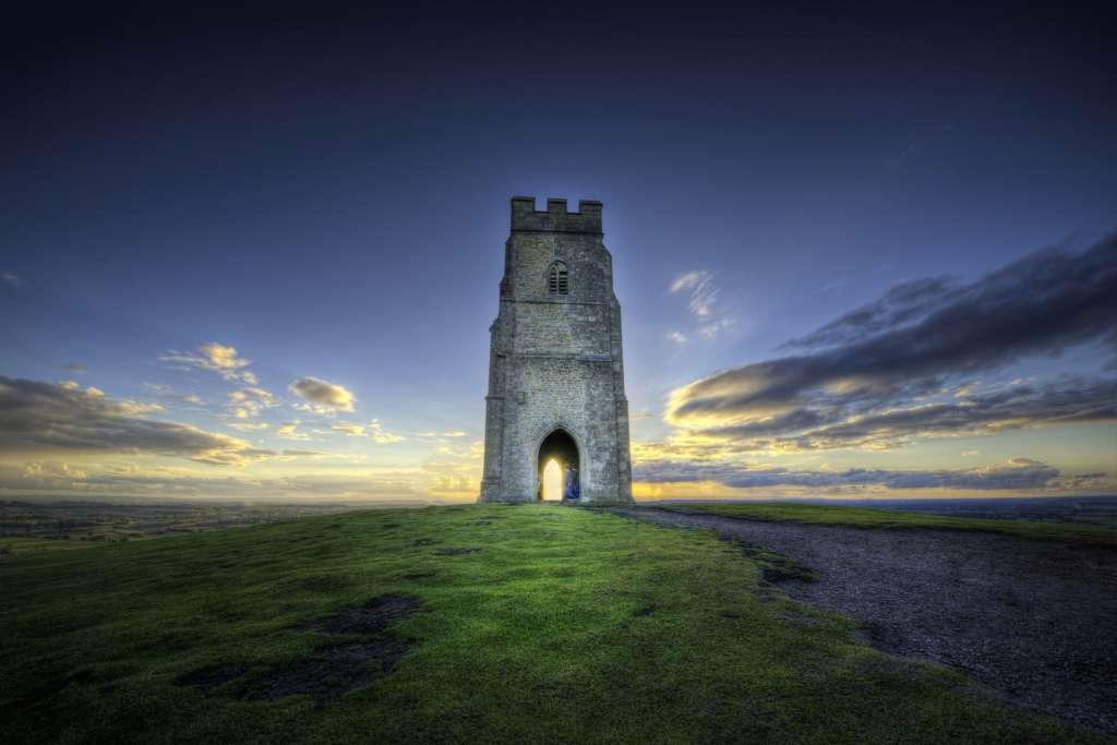 St Michael's Tower. Cuarto de los chakras de la tierra.