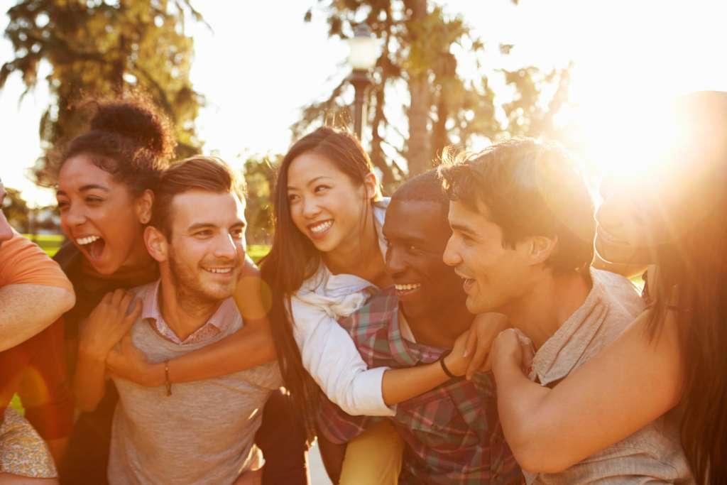 Felicidad con nuestros amigos