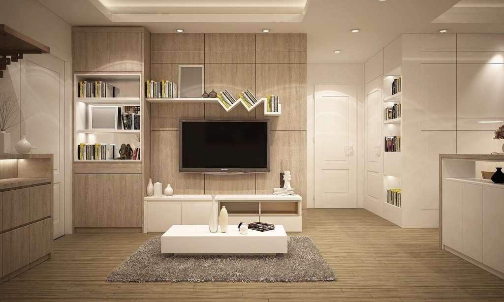 Salón ordenado y Energía positiva en el hogar