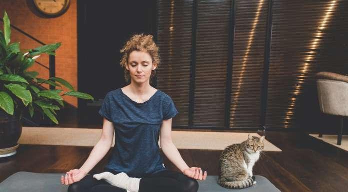 Practicando en el espacio de meditación